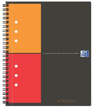 Oxford INTERNATIONAL activebook, 160 bladzijden, ft A5+, geruit 5 mm