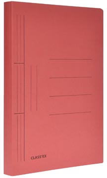 Class'ex hechtmap, ft 25 x 32 cm (voor ft A4), kers
