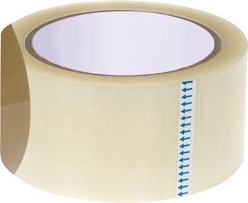 STAR verpakkingsplakband ft 50 mm x 66 m, transparant
