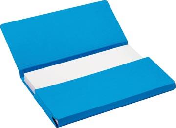 Jalema Secolor Pocketmap voor ft folio (34,8 x 23 cm), blauw