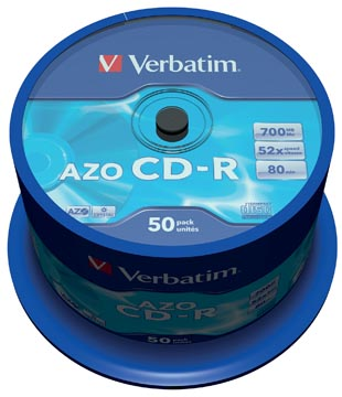Verbatim CD recordable, spindel van 50 stuks