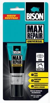 Bison lijm Max Repair Universal, blister met tube van 45 g