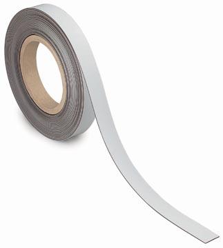 Maul magnetische etiketband, wisbaar, ft 10 m x 20 mm x 1 mm