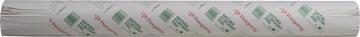 Pergamy flipchartpapier Natura, gerecylceerd, ft 65 x 98, effen, rol met 50 blad
