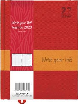 Aurora Plan-a-week 27 Quartet, geassorteerde kleuren, 2022
