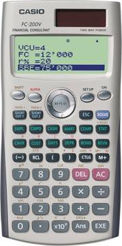 Casio Financiële rekenmachine FC-200V