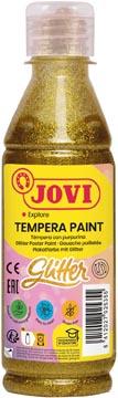 Jovi Plakkaatverf Glitter flacon van 250 ml, goud