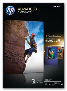 HP Advanced fotopapier ft A3, 250 g, pak van 20 vel, glanzend