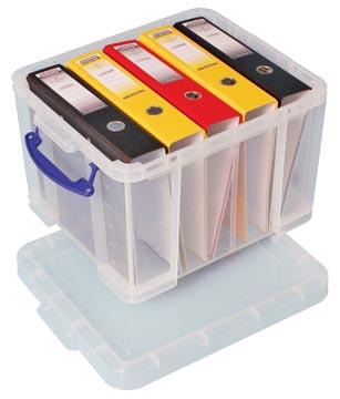 Really Useful Box opbergdoos35 liter, transparant