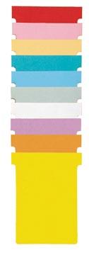 Nobo T-planbordkaarten index 3, ft 120 x 92 mm, groen